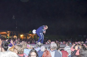 Entertainer Johnny Reid was the Thursday night headline opener at Manitoulin Country Fest 2015 and what an opener it was. photos by Michael Erskine