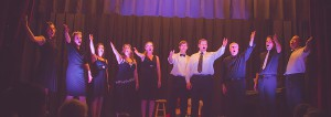 The finale from Broadway Extravaganza was 'There's No Business Like Like Show Business' from Annie Get Your Gun featuring all 10 performers. photos courtesy of Focused on Love Photography