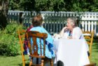 High-Tea-Guests-enjoying-tea-and-music-at-the-Silver-Skate-High-Tea-fundraiser-for-improvements-at-Kagawong's-outdoor-rink