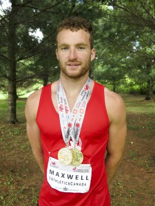 Evansville's Joseph Maxwell took on the entire world at the IAAF World Youth Championships in Colombia and placed sixth in shotput as part of Team Canada.