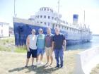 MIelke Chuck, Matt, Dad, and I