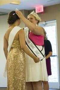 Miss Manitoulin 2014, Katie Harper crowns Miss Manitoulin 2015, Brittany Manitowabi