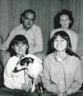 NT The family at their cottage in 1968, about the time of the kidnapping