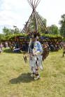 Sheg powwow- head dancer
